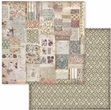 Stamperia - Double-Sided Cardstock 12x12 - Spring Botanic - Patchwork ( SBB588)
