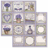 Stamperia - Double-Sided Cardstock 12x12 - Provence - Cards (SBB593)