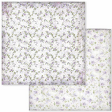 Stamperia - Double-Sided Cardstock 12x12 - Provence - Texture Flowers (SBB594)