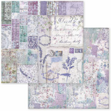 Stamperia - Double-Sided Cardstock 12x12 - Provence - Patchwork (SBB595)
