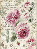 Stamperia - Decoupage Rice Paper A4 - English Roses (DFSA4358)