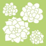 Kaisercraft - Greenhouse - Succulents Template (IT487)