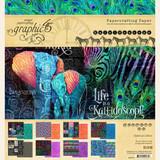 "Graphic 45 - Paper Pad 8""X8"" - Kaleidoscope (G4501855)"