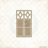 Blue Fern Studios - Chipboard - Patter's Window (236579)