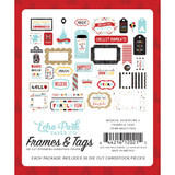 Echo Park - Frames and Tags 33/Pkg - Magical Adventure 2 (MAG177025)