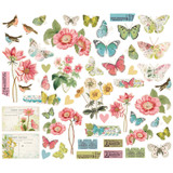 Simple Stories - Bits and Pieces - Simple Vintage Botanicals (10487)