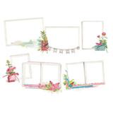 Simple Stories - Chipboard Layered Frames - Simple Vintage Botanicals (10491)