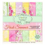 LemonCraft - Scrapbooking 12 x 12 Collection - Fresh Summer (LZP-FS01)