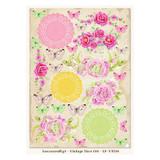 LemonCraft - LemonCraft - Vintage Time Decorative Paper - Tags and Cut Aparts - Vintage Time 014 (LP-VT014)