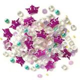 28 Lilac Lane / Buttons Galore : Sparkletz Embellishment Pack 10g - Princess Dreams (SPK - 131)
