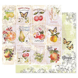 Prima - Double sided 12x12 Cardstock Paper - Fruit Paradise - Fruit Lover (849160)