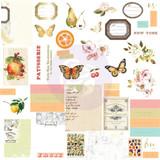 Prima - Ephemera w/Foil Details 44/Pkg - Fruit Paradise (638412)