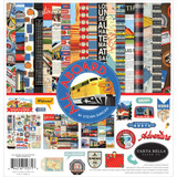 Carta Bella - Double Sided Cardstock Collection Kit 12x12 - All Aboard (AA101016)