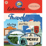Carta Bella - Ephemera Icons 33/Pkg - All Aboard (AA101024)
