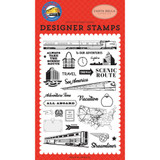 Carta Bella - Clear Stamp Set 4x6 - All Aboard - To Our Adventures (AA101040)