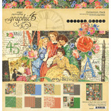 Graphic 45 -Double-Sided Paper Collection 12x12 - Little Women (G4501659)