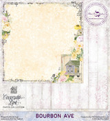 Blue Fern Studios - Courtship Lane 12x12 dbl sided paper - Bourbon Ave (112478)