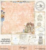 Blue Fern Studio - Autumn Anthology 12x12 dbl sided paper - Cottage (074349)