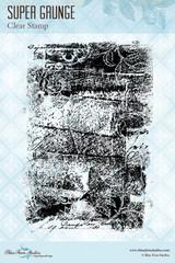 Blue Fern Studios - Clear Stamp - Super Grunge (848988)