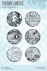 Blue Fern Studios - Clear Stamp - Texture Circles (150579)