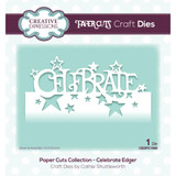 Creative Expressions - Cathie Shuttleworth - Paper Cuts Edger Craft Dies - Celebrate (CEDPC069)