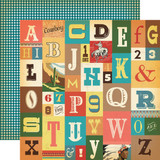 Carta Bella - 12x12 Double Sided Paper - Cowboy Country - Howdy (CBCC77006 )