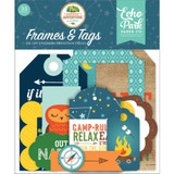 Echo Park- Cardstock Frames and Tags 33/Pkg - Summer Adventure (SA180025)