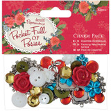 Papermania - Charm Pack 32/Pkg - Pocket Full Of Posies (PM356907)