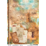 Ciao Bella - Decoupage Rice Paper Sheet - Repubbliche Marinare Collection - Repubbliche Marinare (CBRP030)