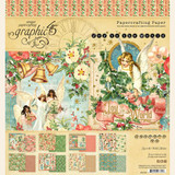 Graphic 45 - Double Sided 8x8 Paper Pad- Joy To The World (4501908)
