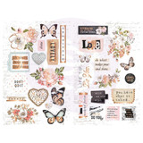 Prima Marketing - Chipboard 6x10 - Apricot Honey (641511)