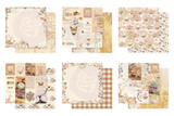 Prima Marketing - 12x12 Collection Pack 12/Pcs - Autumn Sunset (AS Collection-12/Pcs)