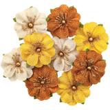 Prima Marketing - Flowers - Autumn Sunset - Haystack 9/Pkg (642761)