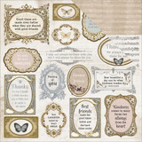 Kaisercraft - 12x12 Double-Sided Paper - Romantique - Symphony (P2431)