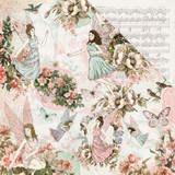 Kaisercraft - 12x12 Double-Sided Paper - Fairy Garden - Fairy Dance (P2487)