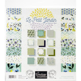 "Couture Creations - Double-Sided Paper Pad 12""X12"" - Le Petit Jardin (CO725434)"
