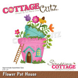 Cottage Cutz - Magical Garden - Flower Pot House (CC624)