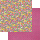 "Kaisercraft - Double-Sided scrapbooking paper 12""X12"" - Flora Delight - Enchanting (P1068)"