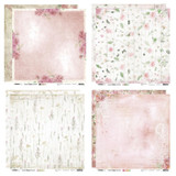 Studio Light - 12x12 Paper Collection - Ultimate Scrap - Floral (USF-8/Pkg)