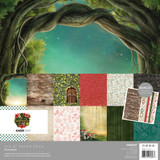 "Kaisercraft - Paper Pack 12""X12"" - Enchanted (PK608)"