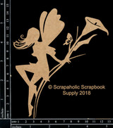 Scrapaholics - Laser Cut Chipboard - Fairy #2 (S51616)