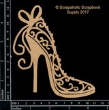 Scrapaholics - Laser Cut Chipboard - Flourish Stiletto (S51432)
