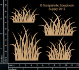 Scrapaholics - Laser Cut Chipboard - Grass Patches (S51395)