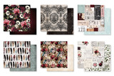 Prima - 12x12 Collection Pack 12/Pkg - Midnight Garden (PMG-12/Pkg)