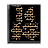 Scrapaholics - Laser Cut Chipboard - Brick Pieces (S49491)