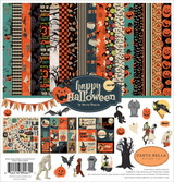Carta Bella - Collection Kit 12x12 - Happy Halloween (CBHAL104016)