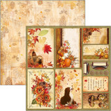 Ciao Bella - Double-Sided Cardstock 12x12 - Sound of Autumn - Cards (CBSS079)
