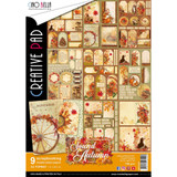 Ciao Bella - Creative Pad A4 9/Pkg - Sound of Autumn (CBCL023)