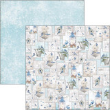 Ciao Bella - Double-Sided Cardstock 12x12 - Time For Home - Hello Winter (CBSS082)