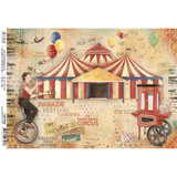 Ciao Bella - Decoupage Rice Paper - Greatest Show Collection - The Greatest Show (CBRP069)